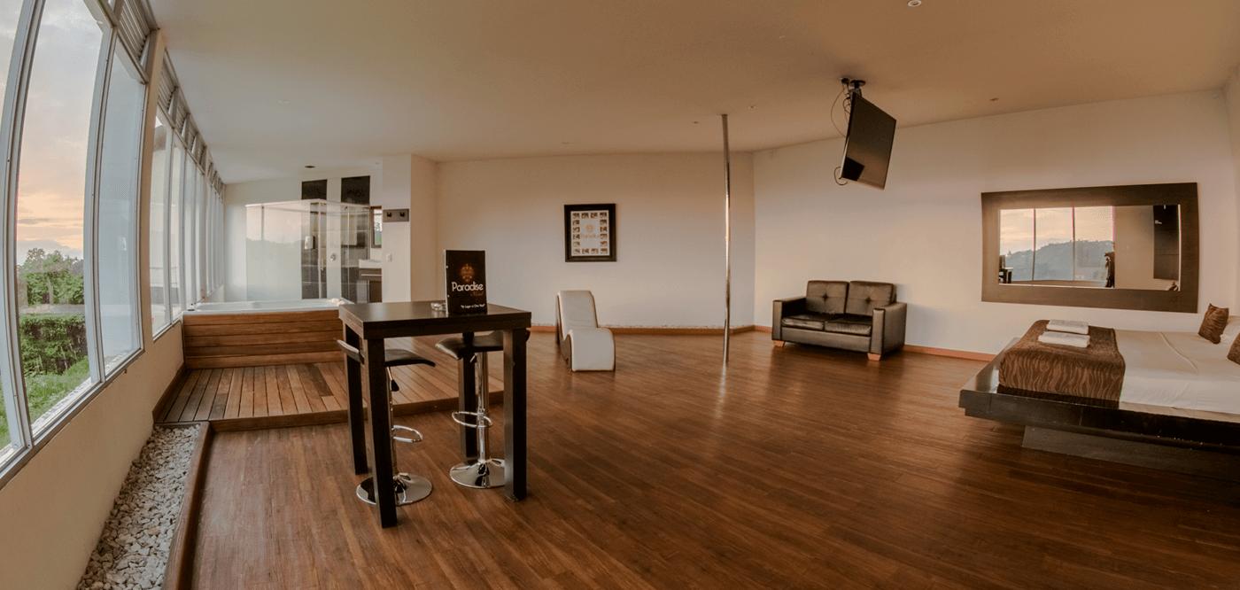 Paradise motel Suite